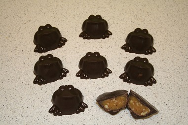 Ribbits-a unique coffee and chocolate confection from Tree   Frog Coffees